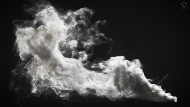 smoke simulation vfx fumefx