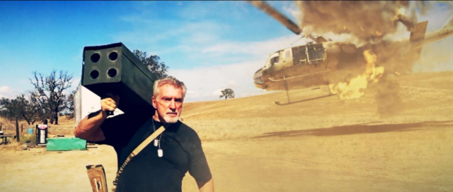 helicopter crash vfx 3D animation CGI