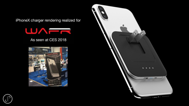 wireless iphonex charger Product 3D Animation / Rendering / Visualization