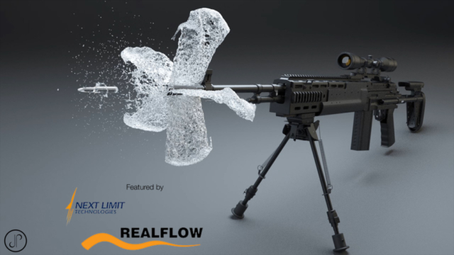 water 3d animation cgi liquid simulation phoenix fd