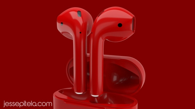 earbuds realistic product 3d animation rendering visualization