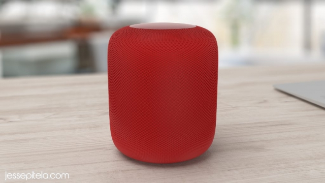 speaker homepod realistic product 3d animation rendering visualization