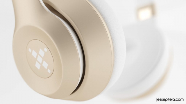 headphones realistic product 3d animation rendering visualization