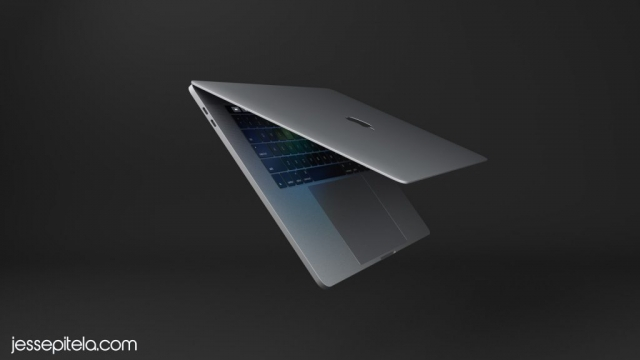 laptop product 3d rendering animation visualization