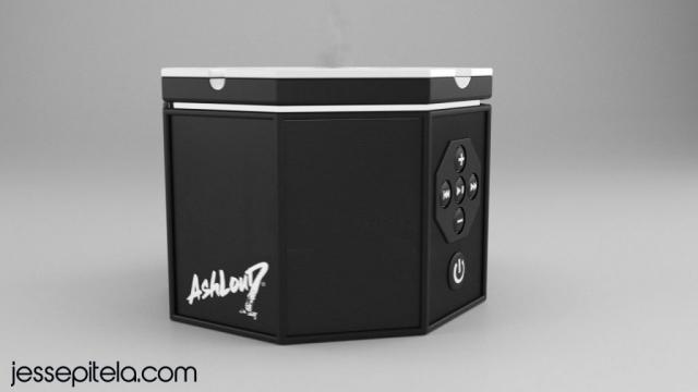 speaker 3D visualization rendering animation keyshot