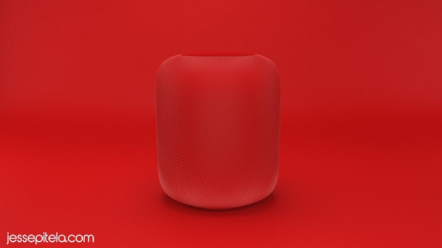 speaker product 3d rendering visualization