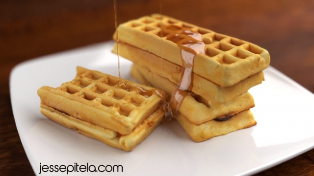 waffles syrup 3d animation vfx simulation cgi phoenixfd viscous liquid