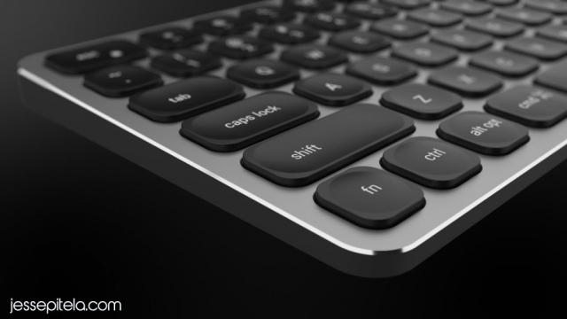 keyboard 3D animation