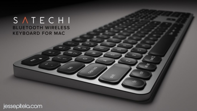 keyboard product 3D animation